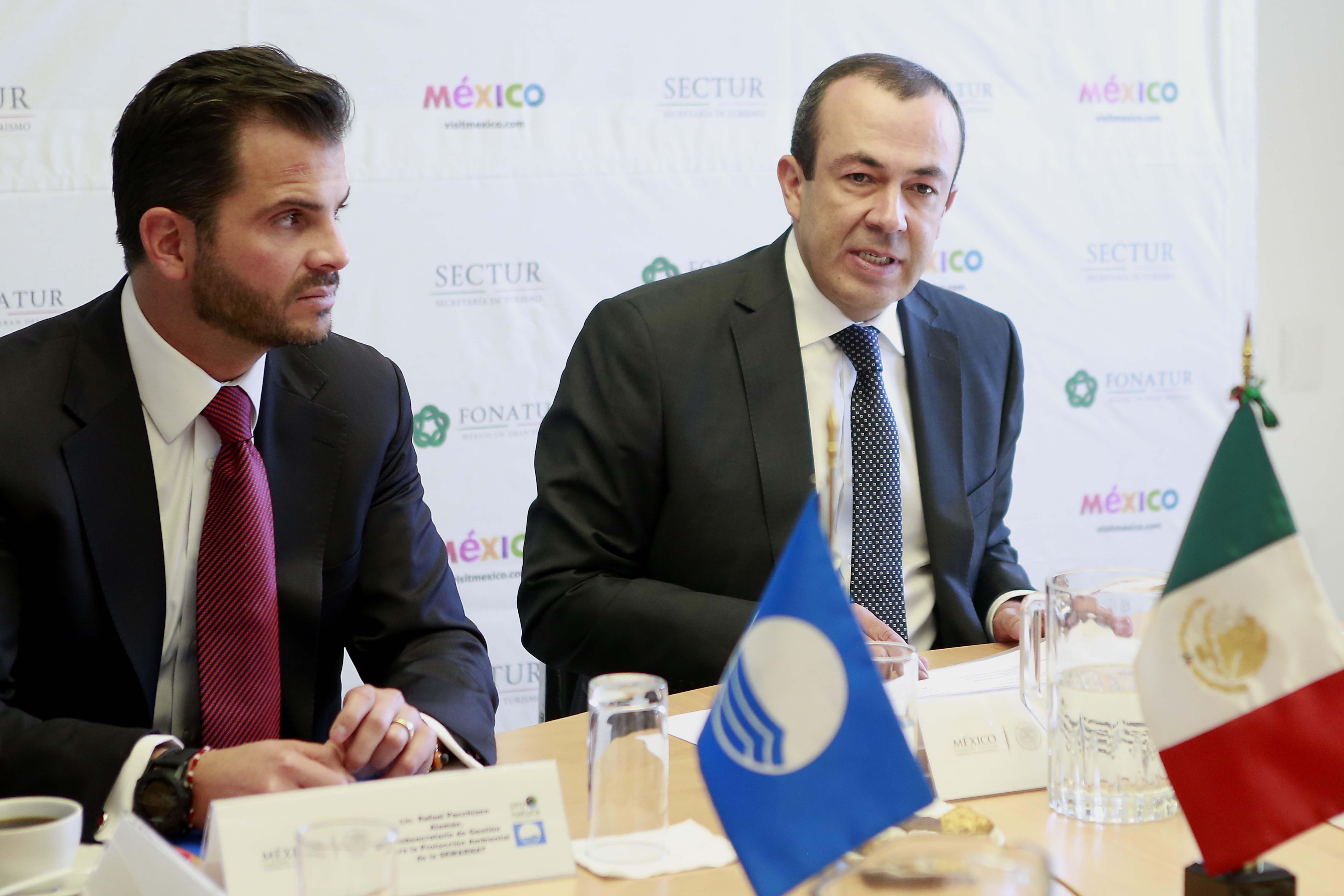 Durante la Primera Reunión del Jurado Nacional Blue Flag Temporada 2015 se anunciaron las candidaturas, en respuesta al compromiso establecido por el Gobierno Federal de fortalecer el Sistema Nacional de Certificación Turística.