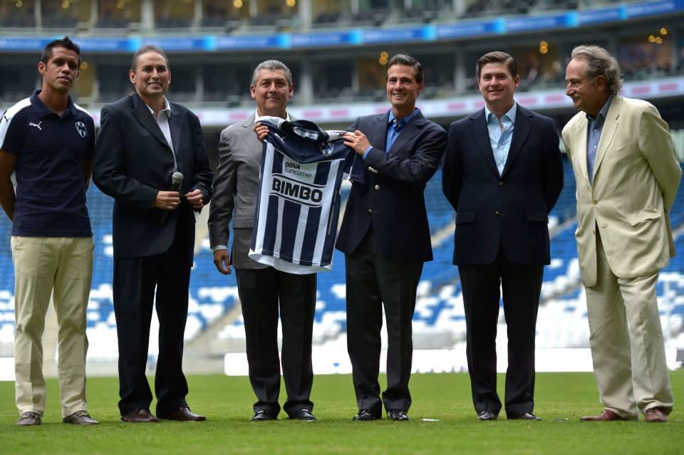 Palabras del Presidente de los Estados Unidos Mexicanos, Enrique Peña Nieto, en la Inauguración del Estadio del Club de Futbol Monterrey