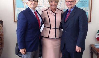 Funcionarios de la SRE evalúan con Alcaldesa de Fort Worth, Texas, beneficios del TLCAN