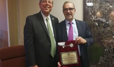 Subsecretario para América del Norte realiza visita de trabajo a Orlando, Florida