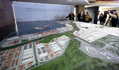 La actual administración le apostó al crecimiento portuario del país en un mundo globalizado