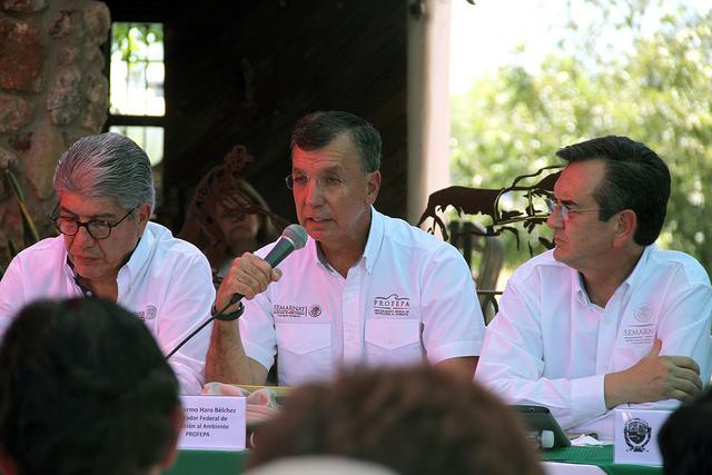 Reunión del Fideicomiso Río Sonora.