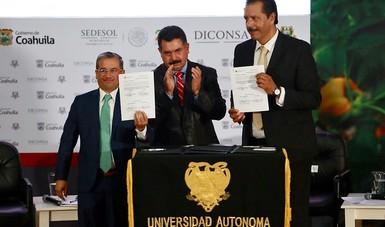 Diconsa y Universidad Autónoma Agraria Antonio Narro
