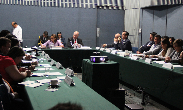 Reunión Intersecretarial para remoción de sargazo.