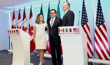 Declaración Trilateral sobre la Conclusión de la Segunda Ronda de Negociaciones del TLCAN