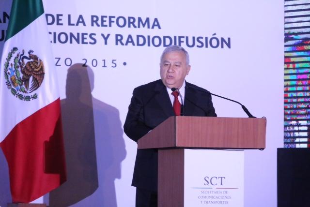 Discurso del secretario de Educación durante la presentación del Informe de Avances de la Reforma en Materia de Telecomunicaciones y Radiodifusión