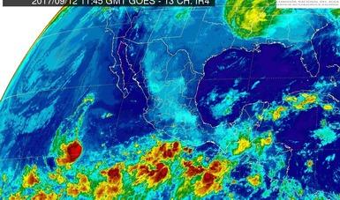 Hoy se prevén tormentas intensas en regiones de Jalisco y Colima
