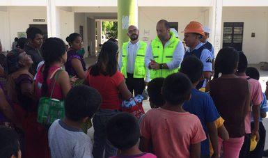 Sin riesgo sanitario, la zona afectada por el sismo