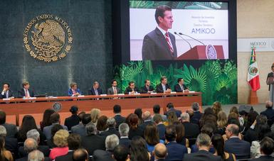 """""""Los mexicanos tenemos que creer que el mejor parque temático del mundo puede estar en nuestro país"""": EPN"""