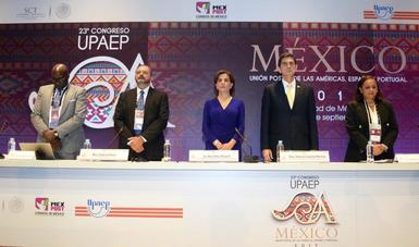 SCT y SEPOMEX Inauguran el 23º Congreso de la Unión Postal de las Américas, España y Portugal
