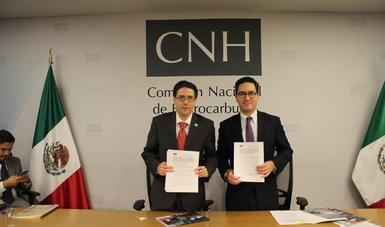 Convenio CNH-CENAGAS