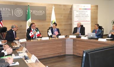 Los representantes de los servicios veterinarios de México, Canadá y Estados Unidos ratificaron su compromiso de realizar acciones coordinadas para mantener el estatus sanitario de la región, a fin de brindar confianza en las certificaciones sanitarias.