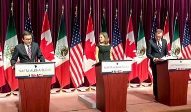 Declaración Trilateral sobre la Conclusión de la Tercera Ronda de Negociaciones del TLCAN