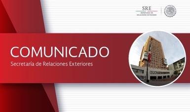 Comunicado del gobierno de México  sobre la situación en Cataluña