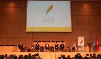 Participación de México en la COP 1 del Convenio de Minamata sobre mercurio