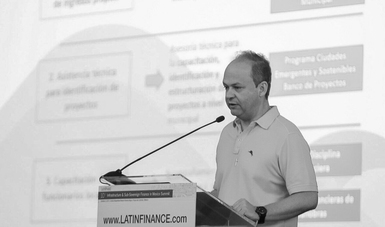 El Director General de Banobras, Alfredo Vara Alonso, participó en la 10° Cumbre de Infraestructura y Finanzas Subnacionales en México, de LatinFinance