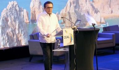 El Secretario de Economía participó en la XXVIII Asamblea Plenaria del Consejo Empresarial de América Latina