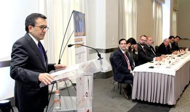 """El Secretario de Economía participó en el Simposio """"Propósito, realidad y futuro: El Tratado de Libre Comercio de América del Norte"""""""