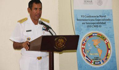 """Clausura de la """"VI Conferencia Naval Interamericana Especializada en Interoperabilidad 2017"""""""