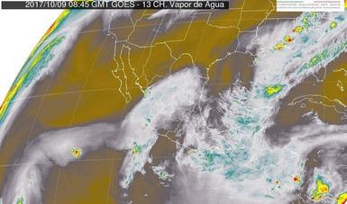 Se prevén tormentas muy fuertes en Jalisco, Tabasco y Chiapas.
