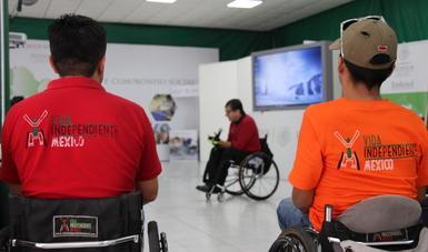 """Recibe Vida Independiente 26 sillas """"que rodarán por todo el país"""""""