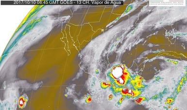En San Luis Potosí, Hidalgo, Puebla y Veracruz se prevén tormentas muy fuertes