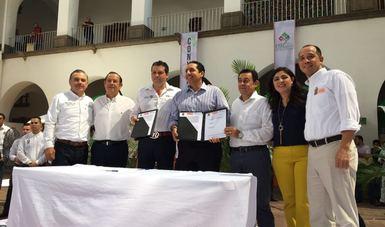 Firma de Convenio FND - Ayuntamiento de Culiacán