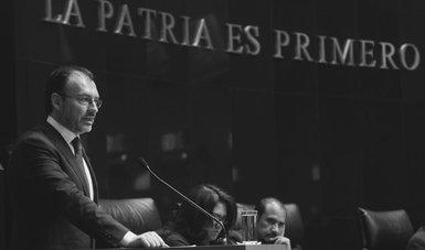 Comparecencia del Canciller Luis Videgaray Caso con motivo de la glosa del V Informe de Gobierno ante el Senado de la República