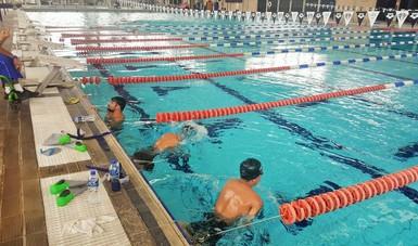 Nadadores paralímpicos se preparan en el CNAR para llegar en óptimas condiciones al Mundial 2017.