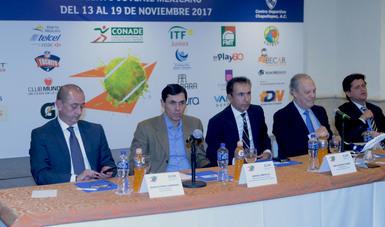 Manuel Portilla aseguró que la CONADE seguirá impulsando el tenis en conjunto con la Federación y la iniciativa privada