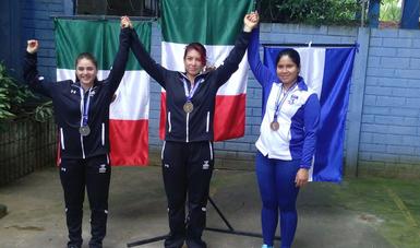 Mexicanas obtienen oro y plata en tiro deportivo en Campeonato de El Salvador