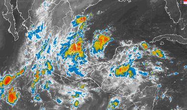 Se mantiene el pronóstico de tormentas intensas para regiones de Hidalgo, Puebla, Veracruz y Oaxaca