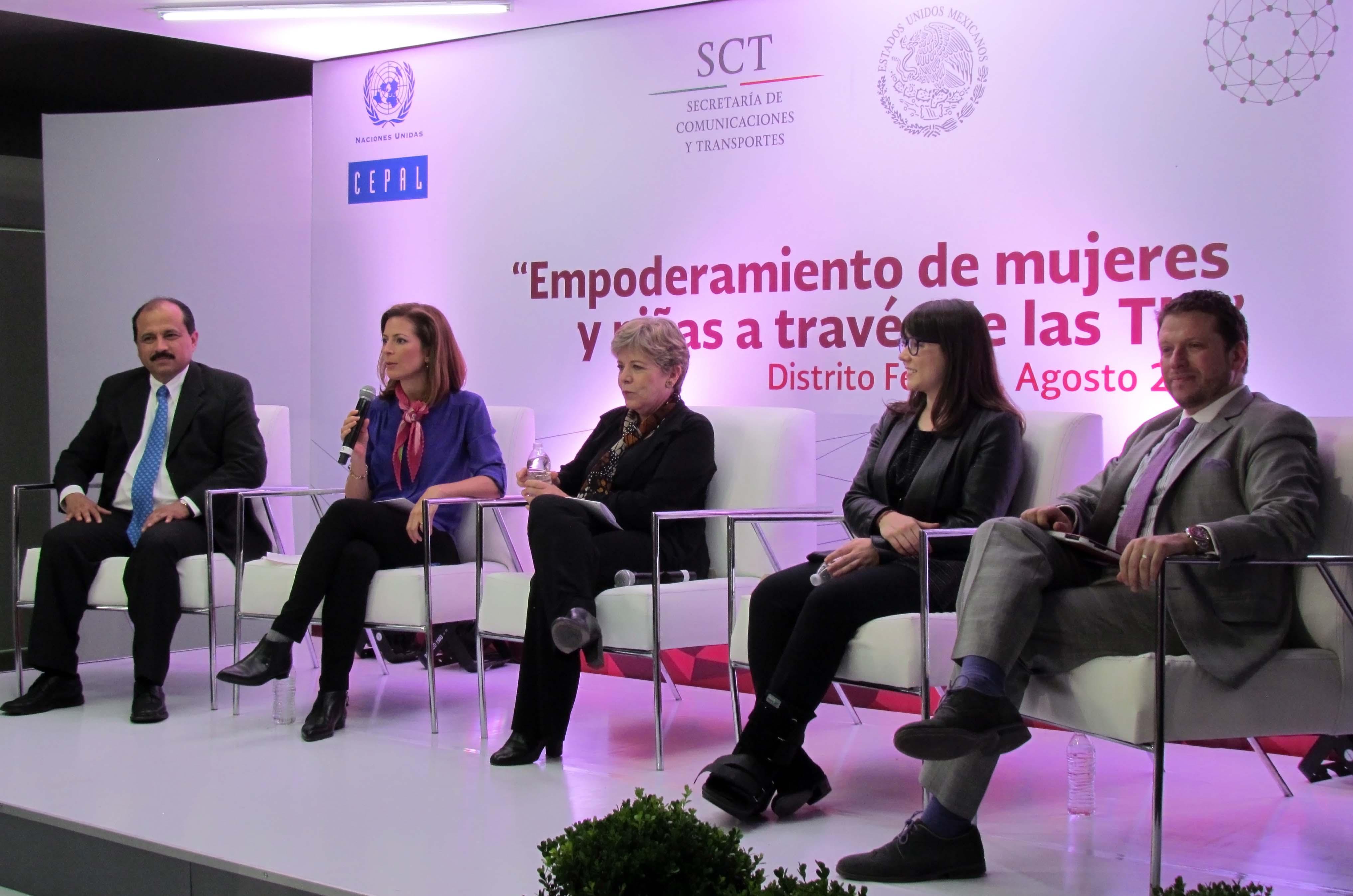 La CEPAL reconoce trabajos de inclusión digital de la SCT en los puntos México Conectado