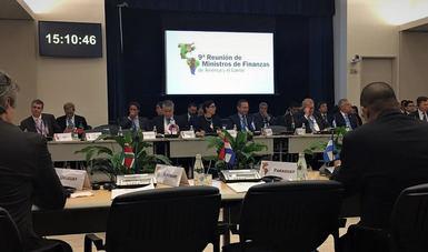 Rubio Márquez destacó fortalezas de la economía en reunión con ministros de América Latina y el Caribe