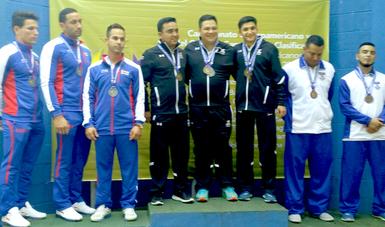 La Selección Mexicana de Tiro Deportivo consiguió tres medallas más en el Campeonato Centroamericano y del Caribe que se lleva a cabo en El Salvador