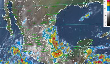 Para las próximas horas, se pronostican tormentas intensas en Veracruz y Oaxaca