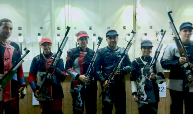 La delegación mexicana de Tiro Deportivo sumó su séptima medalla en el Campeonato Centroamericano y del Caribe de El Salvador
