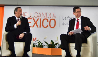"""Secretario Meade en el marco del foro """"Impulsando a México. La Fortaleza de sus Instituciones"""""""