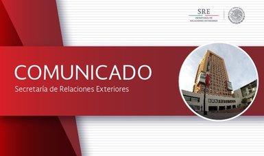 Se llevó a cabo la Quinta Reunión de Trabajo del Grupo Bilateral de Cooperación en Seguridad México-Estados Unidos (GBCS).