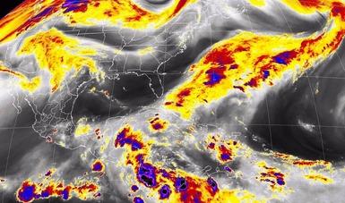 Para hoy se pronostican tormentas muy fuertes en Chiapas y Tabasco.
