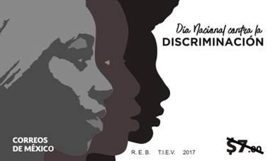 CONAPRED, INAH Y SEPOMEX cancelan sello postal para conmemorar el día nacional contra la discriminación