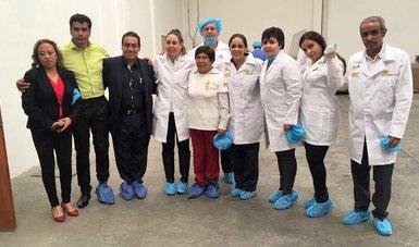Gira de la directora general del INAES a Tlaxcala