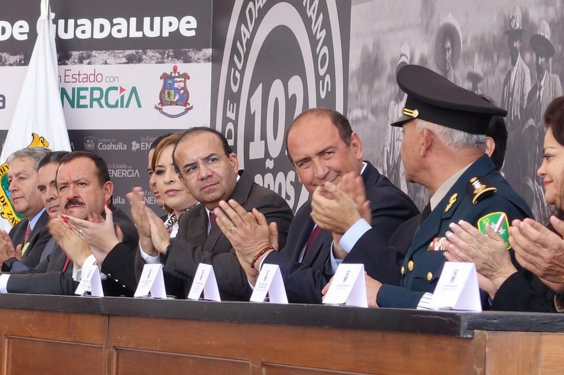 Encabeza el Titular de la STPS la ceremonia del 102 Aniversario de la Promulgación del Plan de Guadalupe.