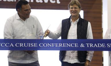 Al inaugurar en Mérida la 24TH FCCA Cruise Conference & Trade Show, el secretario de Turismo dijo que 2017 será un año con cifras históricas en turismo de cruceros.