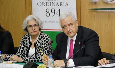 El Vocal Ejecutivo, Luis Antonio Godina Herrera, presidió la sesión ordinaria 894 de la Comisión Ejecutiva del Fondo
