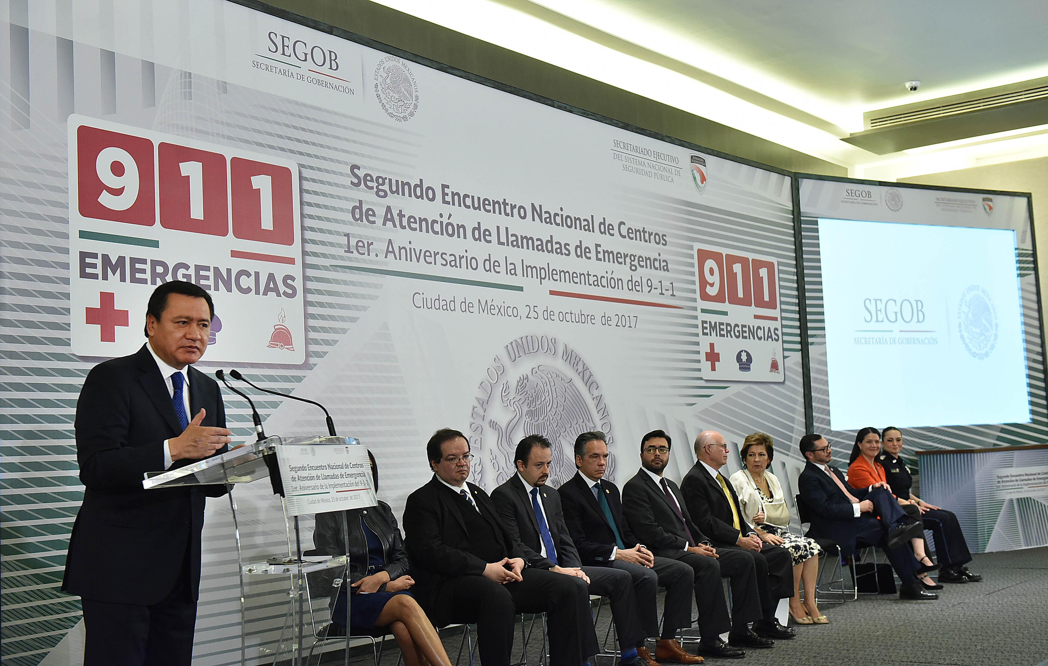 Miguel Osorio, Secretario Gobernación, en 2 Encuentro Centros ...