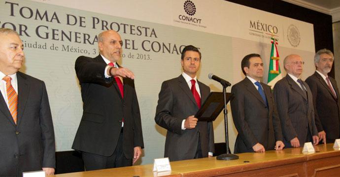 Designa Enrique Peña Nieto a Enrique Cabrero como nuevo Director del CONACYT