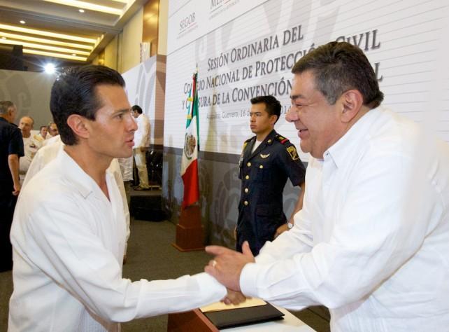 El Presidente Peña Nieto dijo que este Consejo permite a Poderes, autoridades y sociedad, alinear objetivos y coordinar acciones