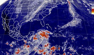 Esta noche se prevén tormentas intensas en Chiapas y muy fuertes en Oaxaca.