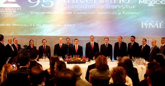 Firma del Decreto para la creación del Instituto Nacional del Emprendedor